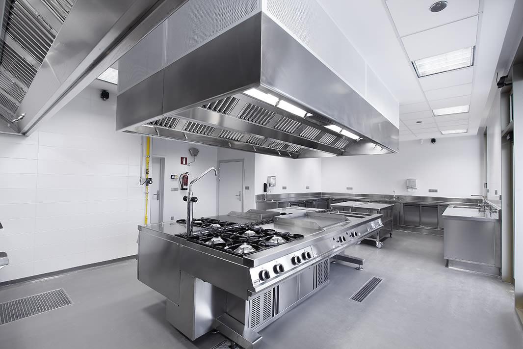 Ventilacion extraccion imagen 49 basque culinary center luko instalaciones - Mobiliario de cocina industrial ...
